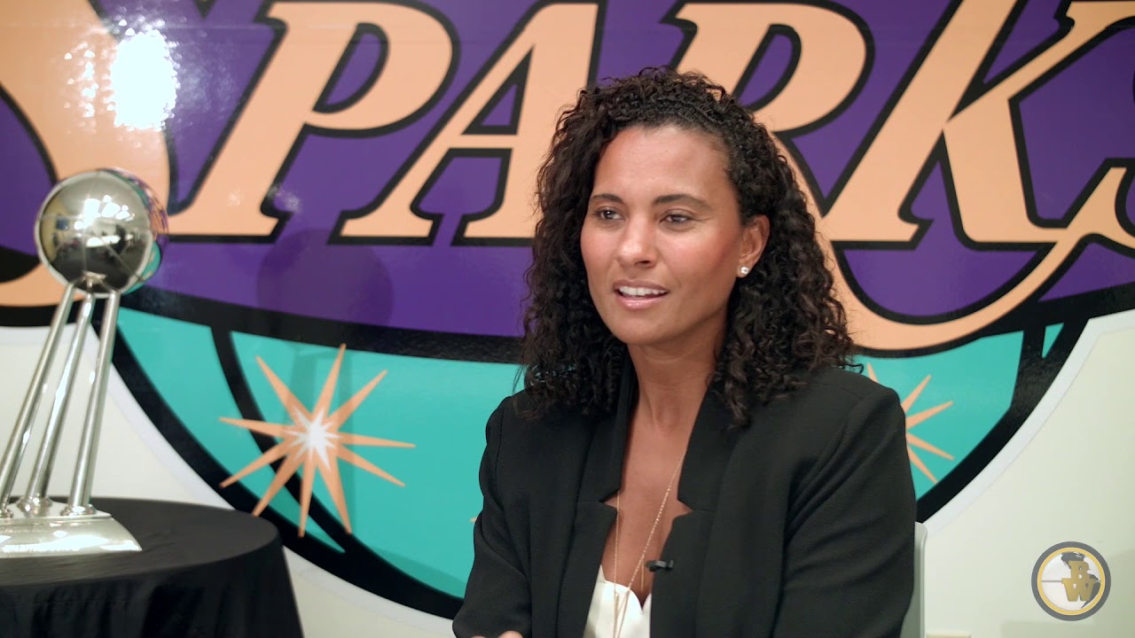 Former LA Sparks Chris tine Simmons COO Talks About Getting Over Opinions